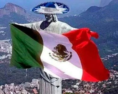 flag day mexico 2014