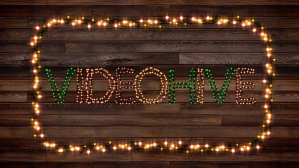 Christmas Lights Letters V2.0