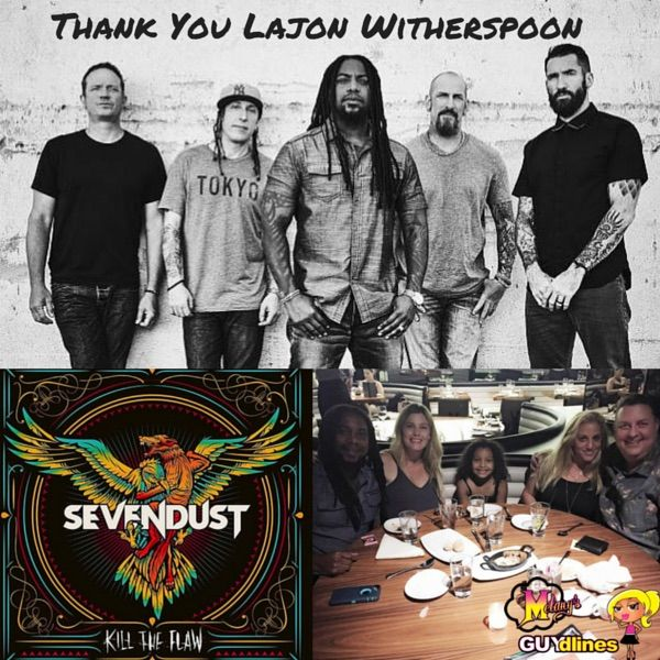 """""""Thank You"""" Sevendust's Lajon Witherspoon For Talking New Album & Tour With Me"""