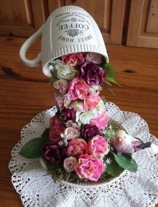 Topiary Flower Flying Cup