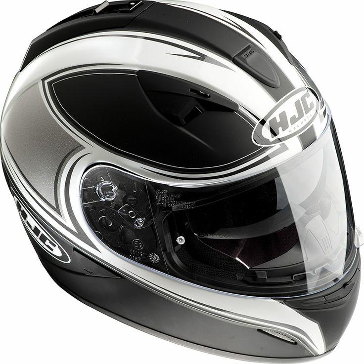 Casco integrale HJC TR1 2tone MC5F : Abbigliamento Moto, Accessori Moto