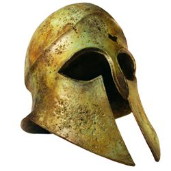 Greek Helmets, Corinthian helmets, Trojan helmets and Spartan helmets by Medieval Armour