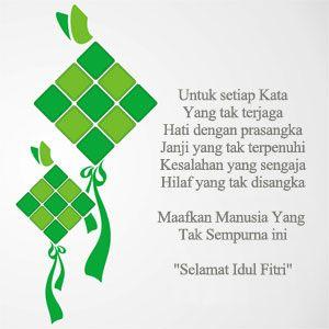 Gambar Kata Idul Fitri