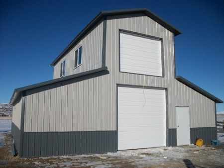 Pole barn with loft google search kc builders for Pole barn loft
