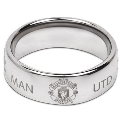 Show your support for @manutd this Christmas with a super titanium ring.