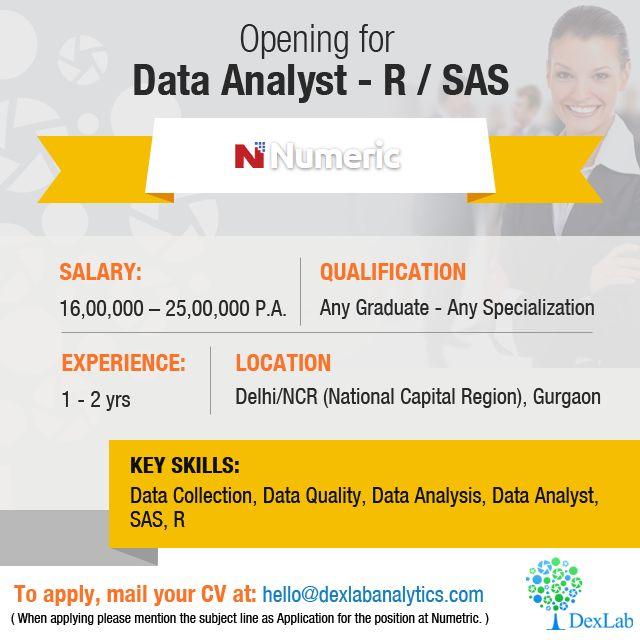 56 best Job Opening In Delhi ,Gurgaon \ Pune images on Pinterest - sas analyst sample resume