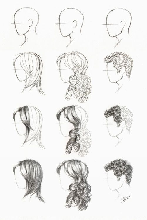 3 GREAT tuts on drawing hair