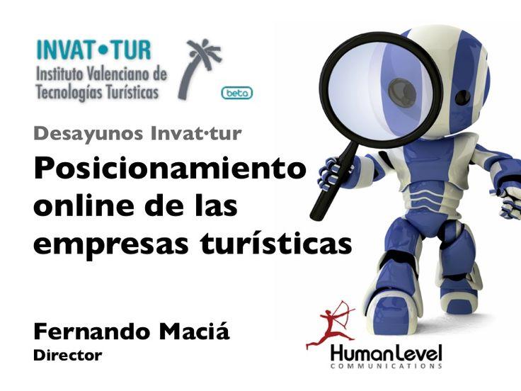 Posicionamiento online de las empresas turísticas