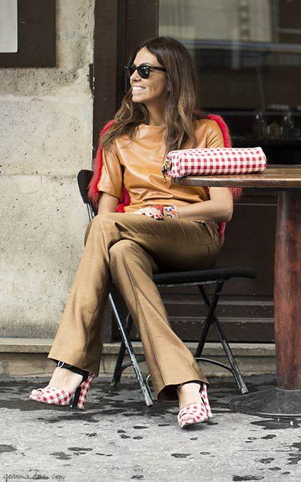 Viviana loves to match http://www.garancedore.fr/en/2013/10/17/matchy-matchy/