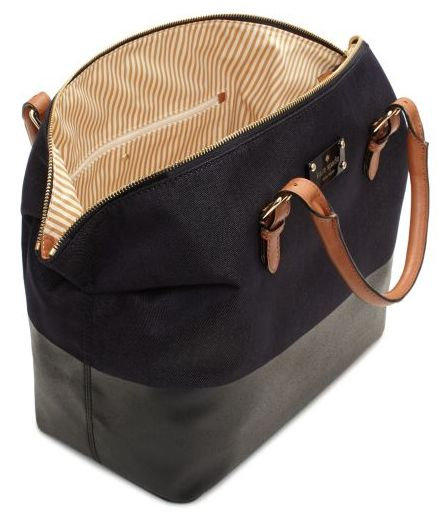 This new bag by Kate Spade (the Dixon Place Blaine to be exact) is so gorgeous I almost can't take it. First of all, I love the shape (it will never go out of style). Second of all, I love that it'...