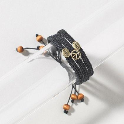 Peace Braided Bracelet FOR SUMMER