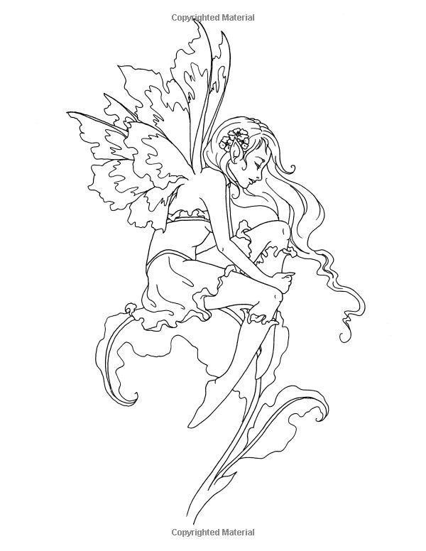 amy brown coloring pages - amy brown fairy pages coloring pages