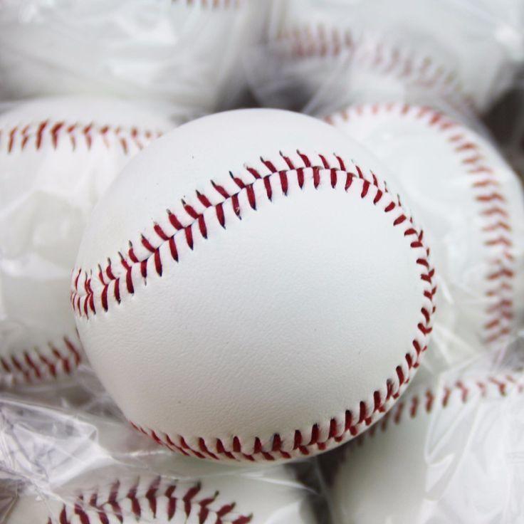 Number 9 Handmade Baseballs PVC Upper Rubber Inner Soft Baseball Balls Softball Ball Training Exercise Baseball Balls