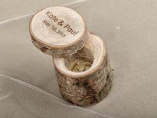 """Авторская шкатулка для обручальных колец: продажа, цена в регионе. подушечки для колец от """"Интернет-магазин «WickerRing»"""" - 166634043"""