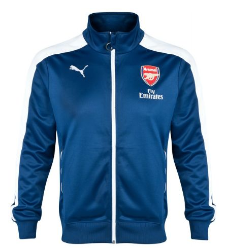 arsenal T7 anthem jacket blue Arsenal London Official Merchandise Available at www.itsmatchday.com
