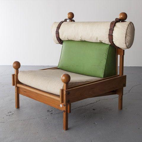 Sergio Rodrigues; 'Tonico' Lounge Chair, 1963.