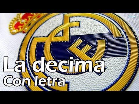 RedOne - La decima - El nuevo himno del Real Madrid! - Con letra - YouTube