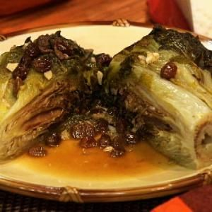 Just the aroma of simmering escarole brings back warm memories of my Grandmother.  Featured on show 1810 - Escarole Rules!