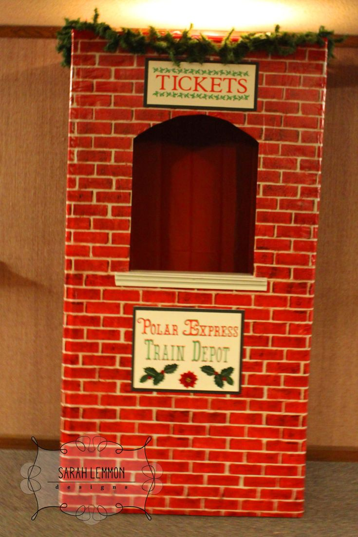 23 best polar express decorations images on pinterest christmas the polar express a ward christmas party biocorpaavc Image collections