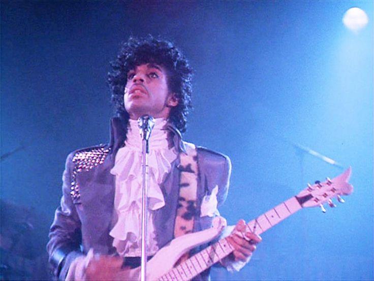 Prince in the film version of Purple Rain