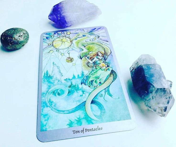 Daily #Tarot Reading for June 6: Ten of Pentacles When we are #protected by strong #steady structures of our own making and when material #abundance offers us mental and #financialsecurity we are supported by the energy of the Ten of Pentacles. Pentacles represent the earth element  the realm of #money #resources #jobs and material #security  and Tens are always the most the culmination. The Ten of Pentacles augurs that we have worked long and hard and can expect to enjoy the abundant fruits…