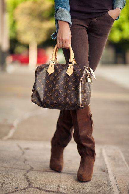 Louis Vuitton Speedy from Wendy s Lookbook  Louisvuittonhandbags 2b9671bc6c3f8