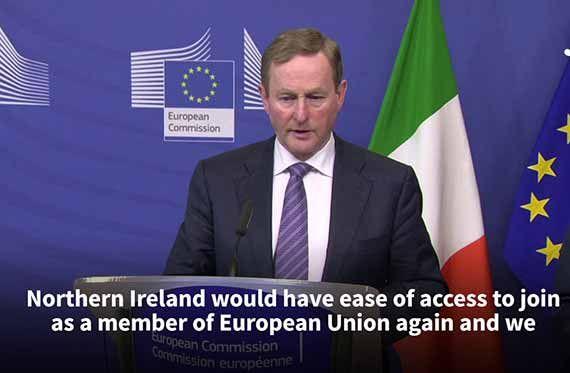 IRLANDA DE NORD MEMBRU DEPLIN UE IN CAZUL UNIRII CU REPUBLICA IRLANDA