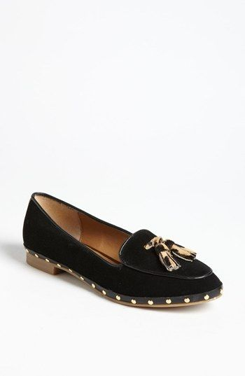 DV by Dolce Vita 'Molly' Tasseled Smoking Slipper available at #Nordstrom