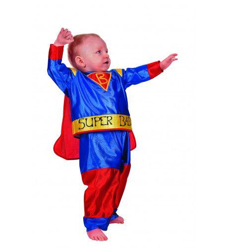 Superbaby Mini-Superheld Kostuum