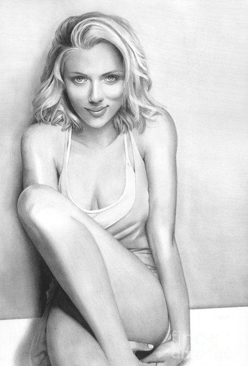 Рисунки карандашом красивых женщин арт секс моему