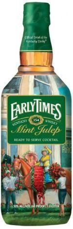 Early Times Kentucky Whisky commemorative Kentucky Derby bottle 2014