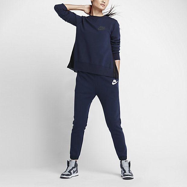 Nike x Sacai sweatpants (worn here http://chicityfashion.com/nike-sacai/)