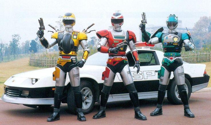 """特警ウインスペクター """"Special Rescue Police Inspector"""" 1990"""