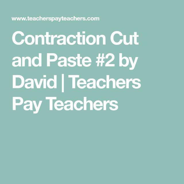 best 25 contraction worksheet ideas on pinterest cut