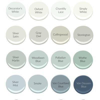 Most Popular Benjamin Moore Paint Colors interior paint