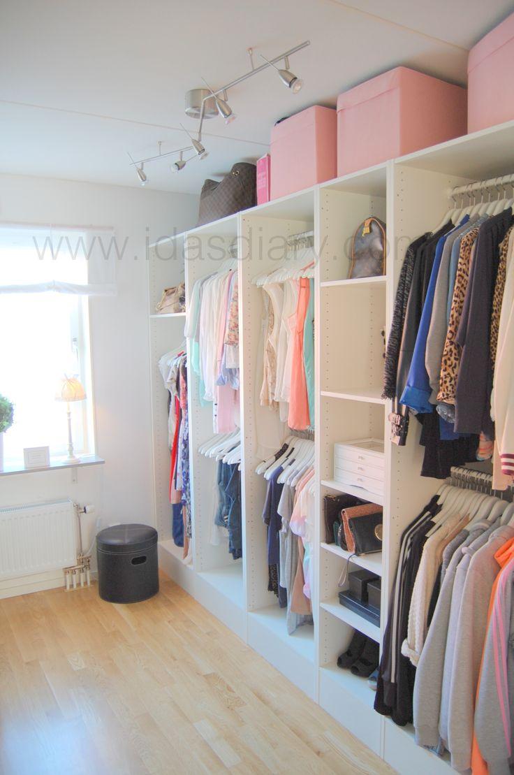 10 best walk in closet ppen garderobsinredning images for Walk in closet india