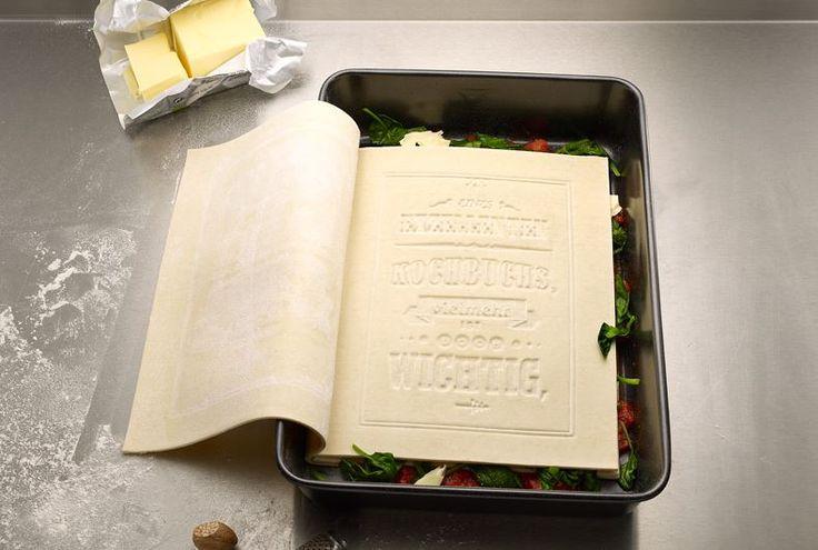 Livre à cuisiner des lasagnes !  #serialwebeuse