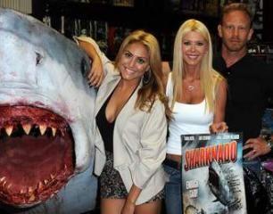 Tara Reid is back for Sharknado 2