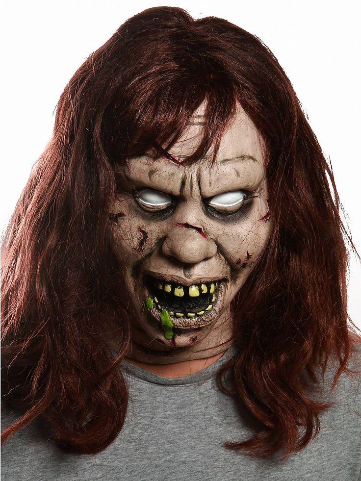 the exorcist regan mask horror movies exorcist halloween mask - Creepy Masks For Halloween