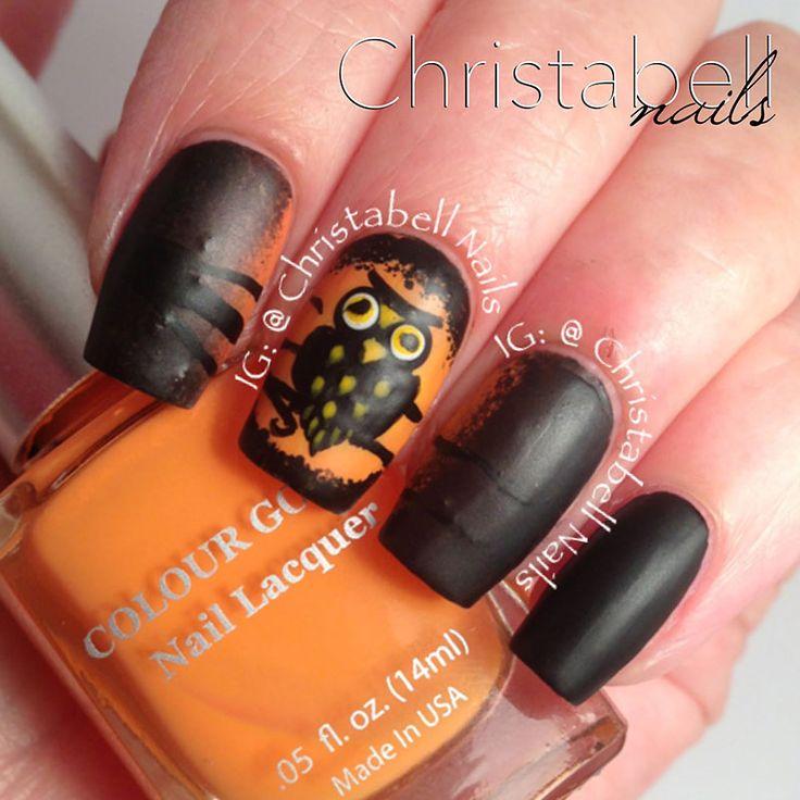 Más de 40 fotos de uñas decoradas con Búhos   Decoración de Uñas - Manicura y Nail Art