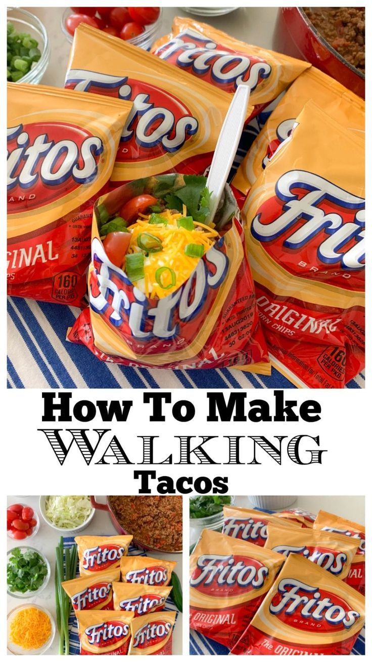 How To Make A Walking Taco