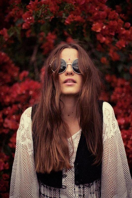 60s hippie style