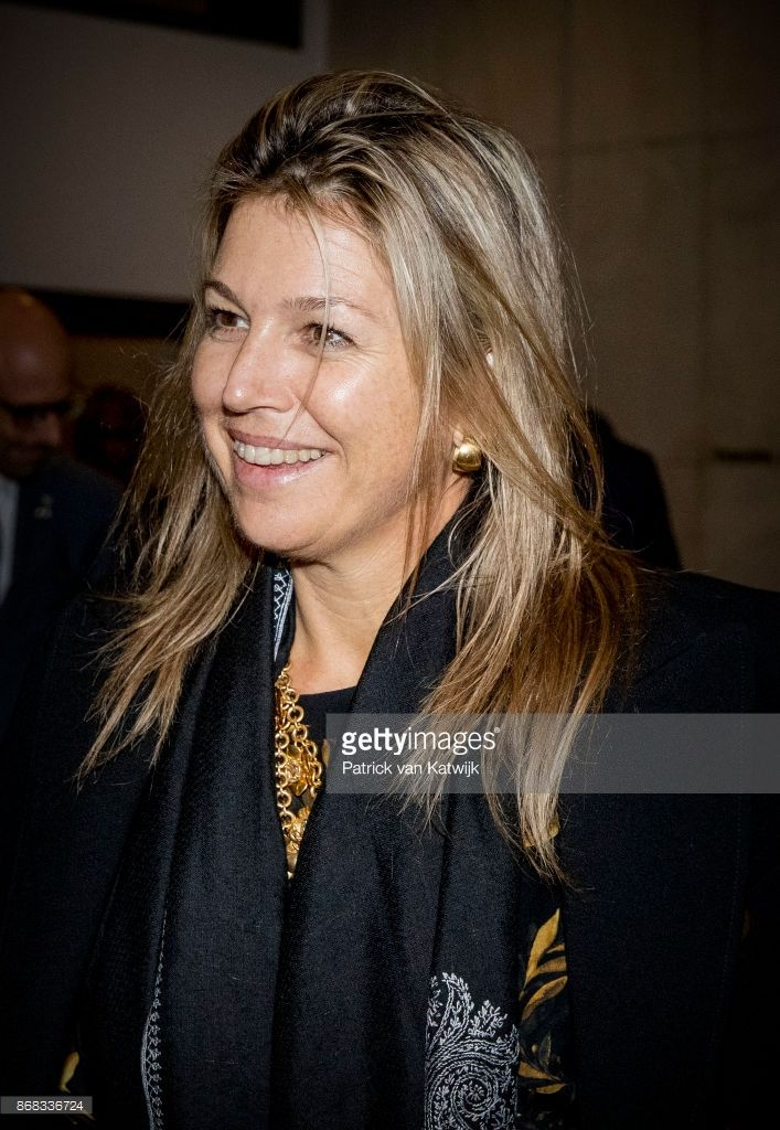 Queen Maxima of The Netherlands arrives at her hotel in Lagos on October 30, 2017 in Lagos, Nigeria. Queen Maxima of The Netherlands visits Nigeria as United Nation Secretary Generals Special Advocate for Inclusive Finance for Development