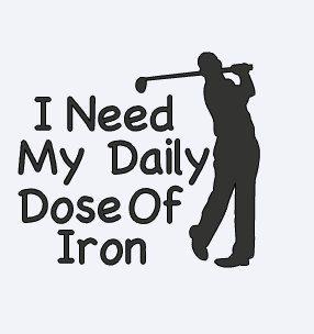 Golf Decal Yeti Decal for Men Yeti Golf Decal Funny Golf