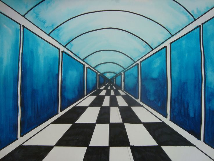 17 Best images about Perspective on Pinterest | Image ...Easy One Point Perspective Drawing