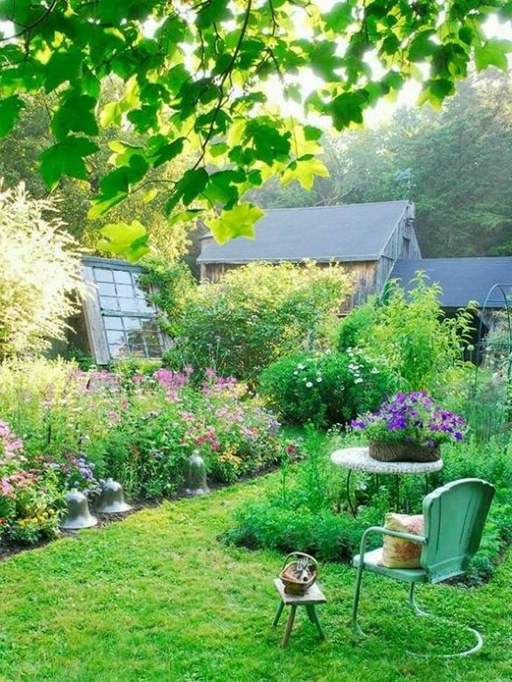 Awesome French Country Garden