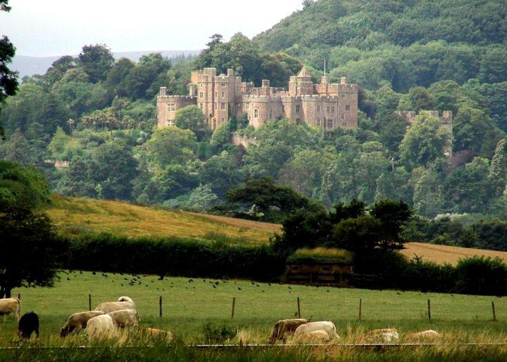 Dunster Castle,Dunster, Somerset, England.