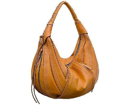 Oryany Giselle Lamb Leather Hobo Handbag And Bag Bags