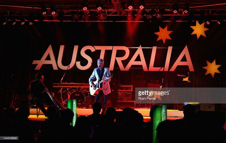 Singer Iva Davies performs during the Athlete Farewell Appeal Dinner for the 2012 Australian Olympic Team at the Sydney Convention & Exhibition Centre on May 16, 2012 in Sydney, Australia.