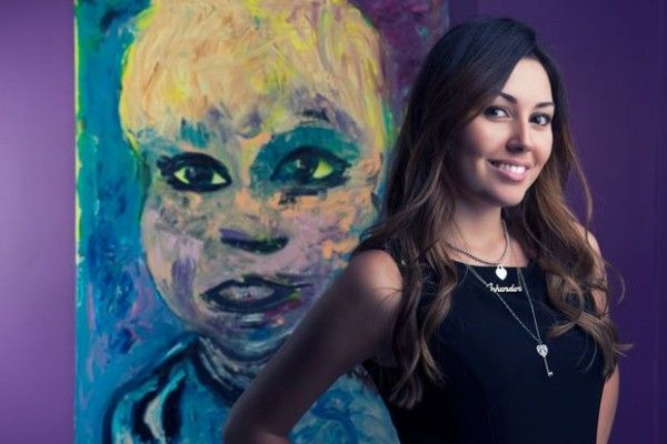 Azerbaijan: Safura has opened her first art gallery in Istanbul